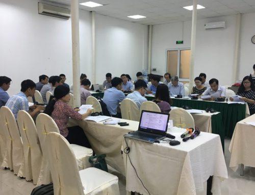 Nhóm nòng cốt đa bên về VPA/FLEGT họp lần thứ 1
