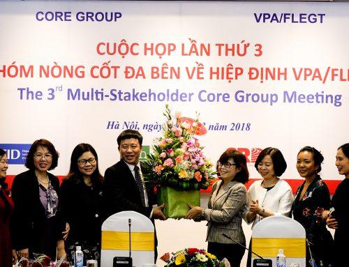 Nhóm nòng cốt đa bên về VPA/FLEGT họp lần thứ 3